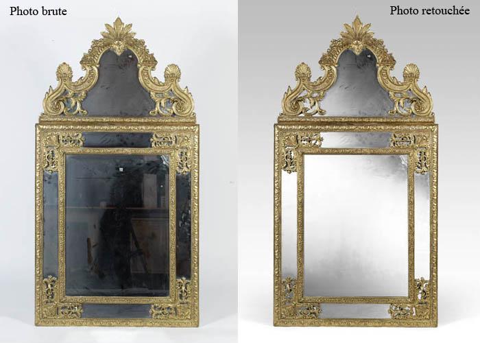 Retouche miroir